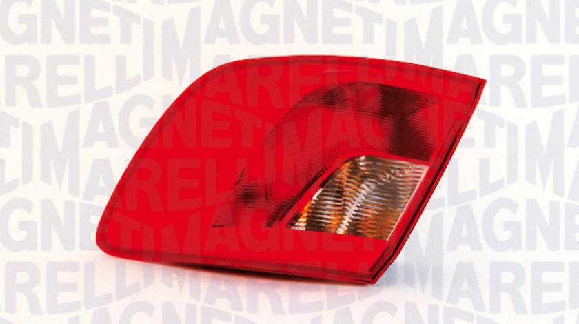 Stop tripla lampa spate stanga ( exterior , semnalizator alb, culoare sticla: rosu) SEAT IBIZA COMBI 2008-2012