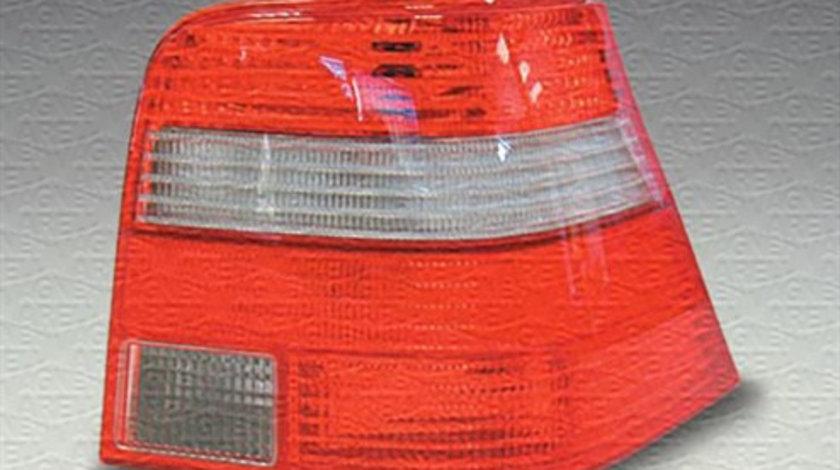Stop tripla lampa spate stanga (semnalizator alb, culoare sticla: rosu) VW GOLF 1997-2006