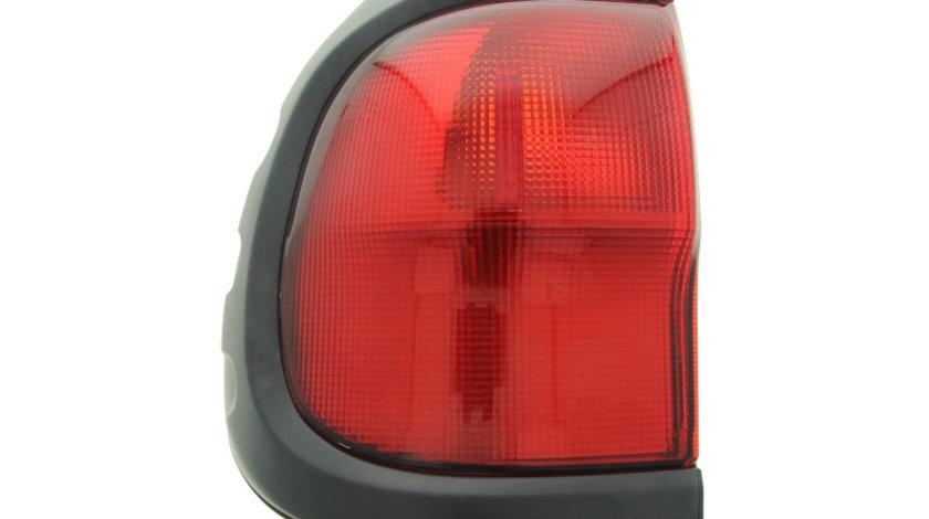 Stop tripla lampa spate stanga (semnalizator rosu, culoare sticla: rosu) NISSAN TERRANO 1999-2007