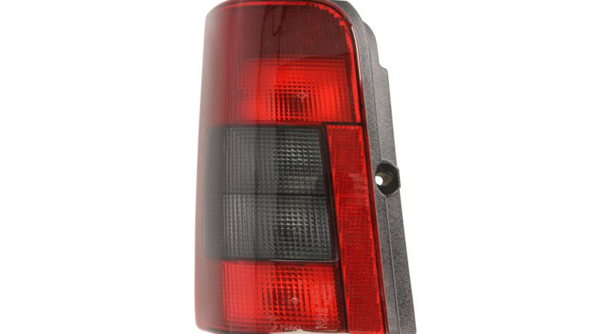 Stop tripla lampa spate stanga (semnalizator fumuriu, culoare sticla: rosu) CITROEN BERLINGO PEUGEOT PARTNER 1996-2008