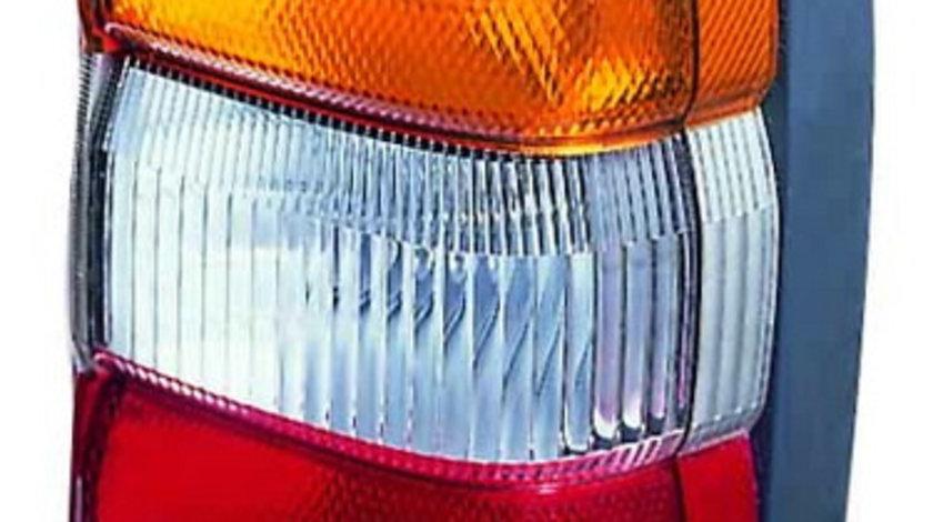 Stop tripla lampa spate stanga (semnalizator portocaliu, culoare sticla: rosu) NISSAN PATROL OFF-ROAD 1997-2003