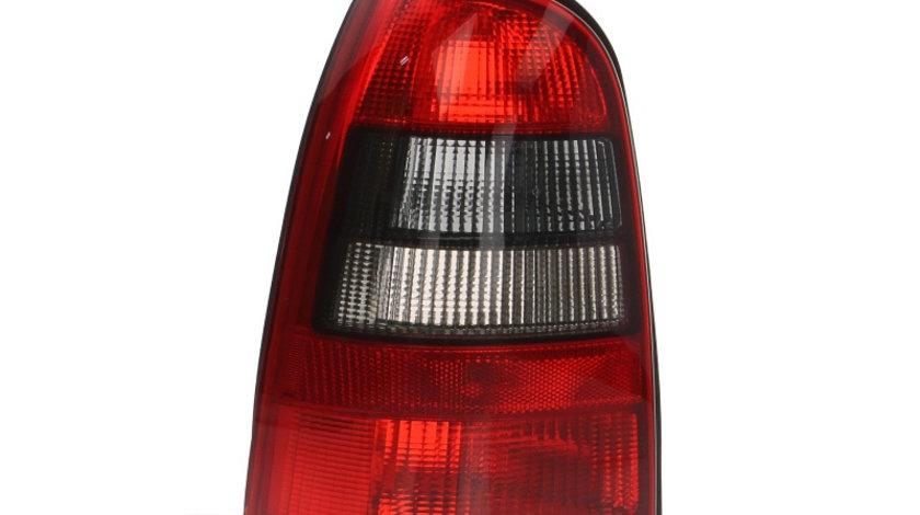 Stop tripla lampa spate stanga (semnalizator fumuriu, culoare sticla: rosu) OPEL VECTRA COMBI 1995-2003