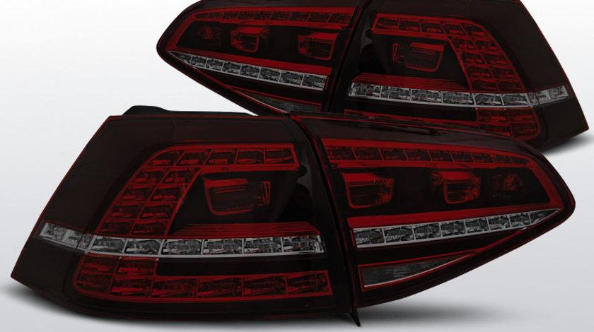 Stop VW Golf 7 dupa 2013- Rosu Fumuriu LED GTI-LOOK