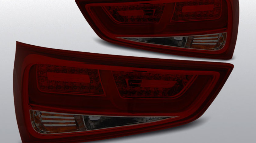 Stopuri AUDI A1 2010- Fumuriu cu Rosu LED