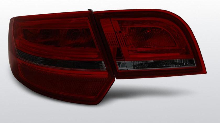 Stopuri Audi A3 8P 2004-2008 Sportback model Rosu Fumuriu pe LED