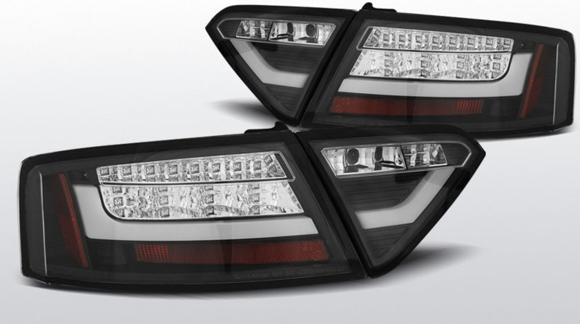 Stopuri AUDI A5 2007-06.2011 COUPE Negru LED BAR