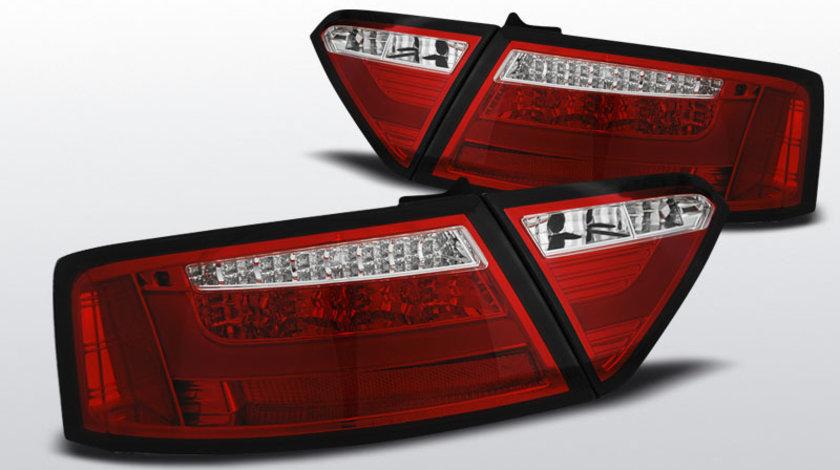 Stopuri AUDI A5 2007-06.2011 Rosu LED BAR pentru Coupe