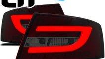 STOPURI AUDI A6 4F - STOPURI CU LED AUDI A6 4F LTI