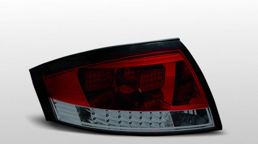 Stopuri AUDI TT 8N Rosu Fumuriu LED