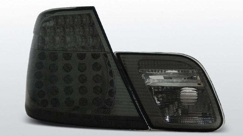 Stopuri BMW E46 Coupe 1999-2003 Fumuriu pe LED