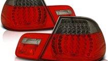 Stopuri BMW E46 coupe rosu/fumuriu
