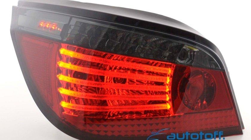 STOPURI BMW E60 - CU LED LCI SERIA 5 (03-07) FIBRA SI SEMNAL LED
