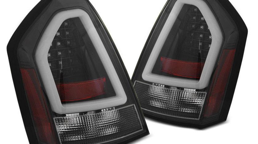 Stopuri Chrysler 300C 2005-2008 Negru pe LED BAR