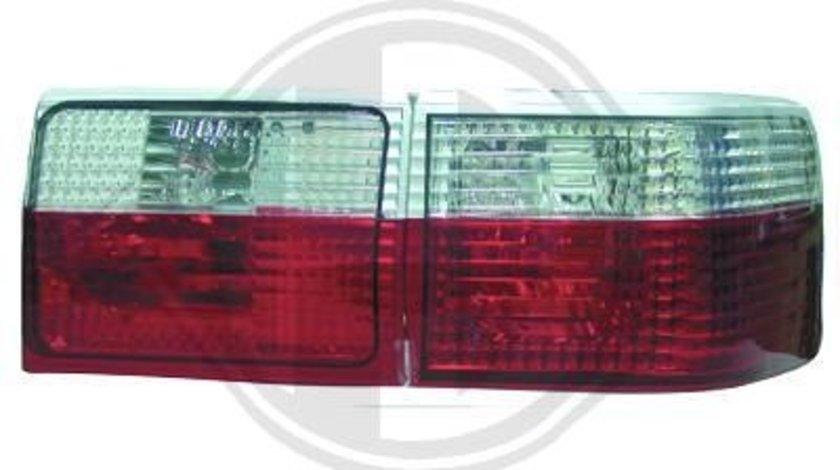 STOPURI CLARE AUDI 80 B4 FUNDAL RED/CRISTAL -COD 1014295