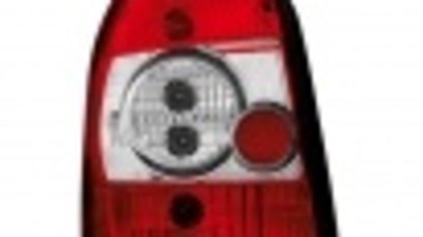 STOPURI CLARE AUDI A4 B5 FUNDAL ROSU-CROM -COD RA07RC