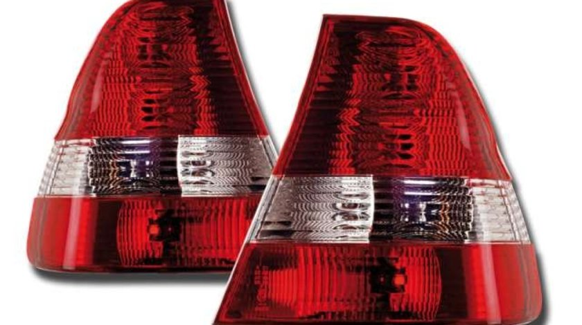 STOPURI CLARE BMW E46 COMPACT FUNDAL RED/CROM -COD FKRLX03074