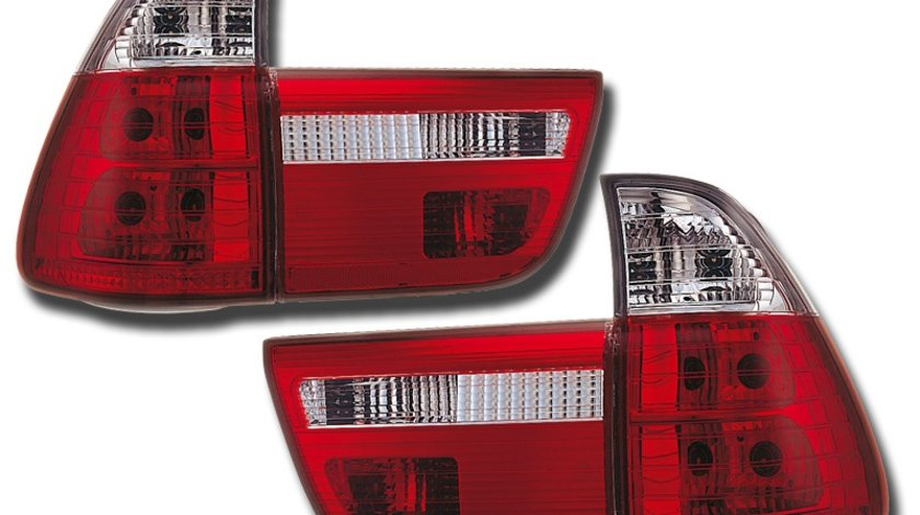 STOPURI CLARE BMW X5 FUNDAL RED/CRISTAL -COD FKRL07027