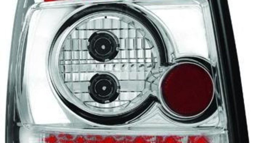 STOPURI CU LED AUDI A4 B5 AVANT FUNDAL CROM -COD RA07LC