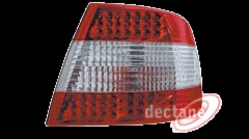 STOPURI CU LED AUDI A4 B5 FUNDAL ROSU CRISTAL -COD RA02DLRC