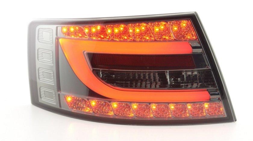 Stopuri cu led Audi A6 4F (fumuriu)