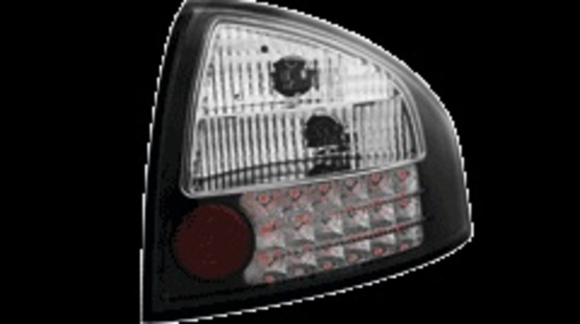 STOPURI CU LED AUDI A6 FUNDAL NEGRU -COD RA03LB