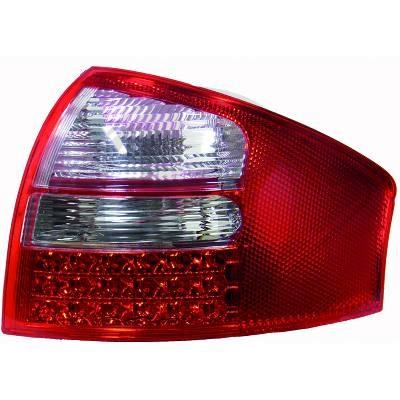 STOPURI CU LED AUDI A6 FUNDAL RED/CRISTAL -COD 1024995