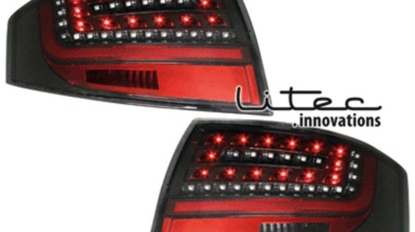 STOPURI CU LED AUDI TT FUNDAL BLACK -COD RA06LB