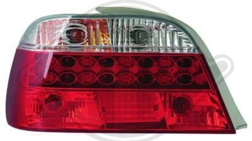 STOPURI CU LED BMW E38 FUNDAL RED/CRISTAL -COD 1242495