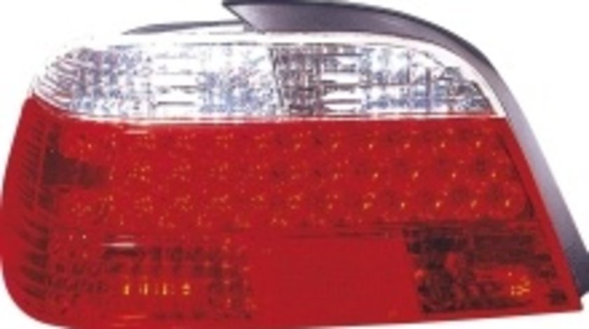 STOPURI CU LED BMW E38 FUNDAL RED/CROM -COD FKRLXLBM8005