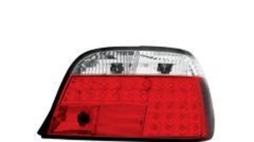 STOPURI CU LED BMW E38 FUNDAL ROSU-CROM -COD RB18LRC