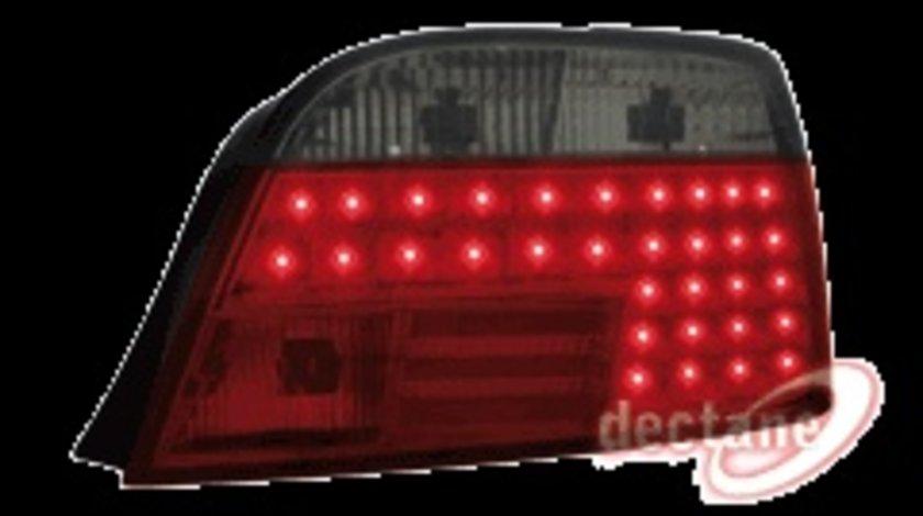 STOPURI CU LED BMW E38 FUNDAL ROSU-NEGRU -COD RB18LRB