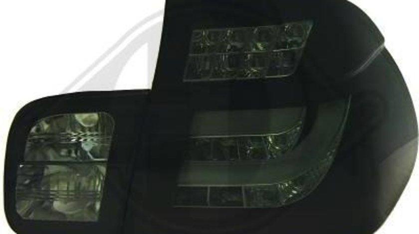 STOPURI CU LED BMW E46 LIM FUNDAL BLACK/SMOKE -COD 121459
