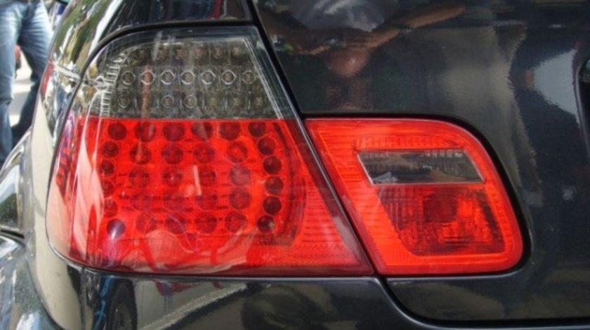 STOPURI CU LED BMW E46 LIM FUNDAL RED/BLACK-COD 1214898