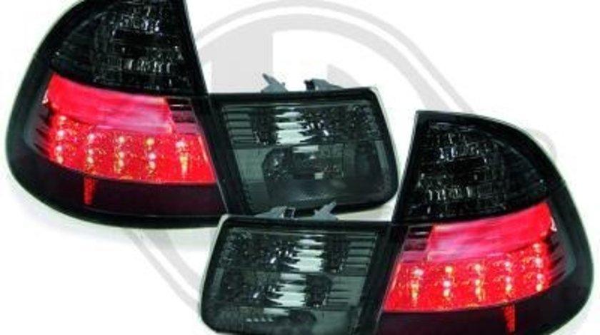 STOPURI CU LED BMW E46 TOURING FUNDAL BLACK-COD 1215999