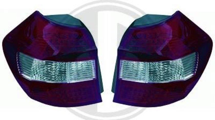 STOPURI CU LED BMW E81/E82/E87 FUNDAL RED/CRISTAL -COD 1280995