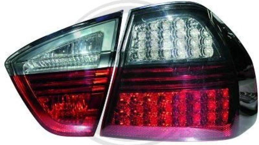 STOPURI CU LED BMW E90 FUNDAL RED/BLACK -COD 1216991