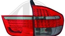 STOPURI CU LED BMW X5 E70 FUNDAL RED/BLACK -COD 12...