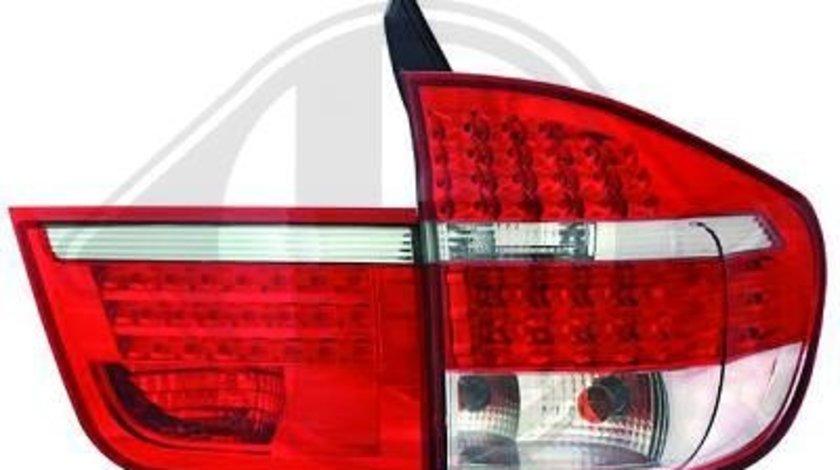 STOPURI CU LED BMW X5 E70 FUNDAL RED/CRISTAL -COD 1291995