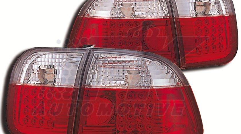 STOPURI CU LED HONDA CIVIC FUNDAL RED/CROM -COD FKRLXLHO8019