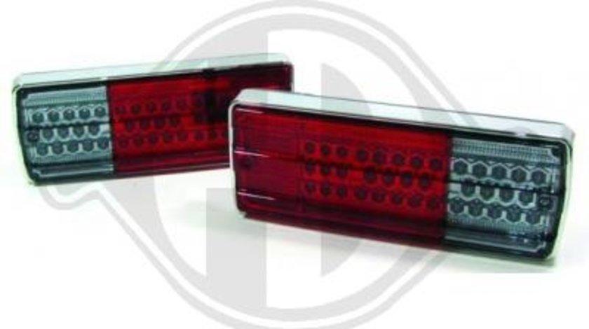 STOPURI CU LED MERCEDES G W463 FUNDAL RED/CRISTAL -COD 1695995