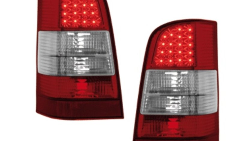STOPURI CU LED MERCEDES VITO FUNDAL RED/CRISTAL -COD 1665995