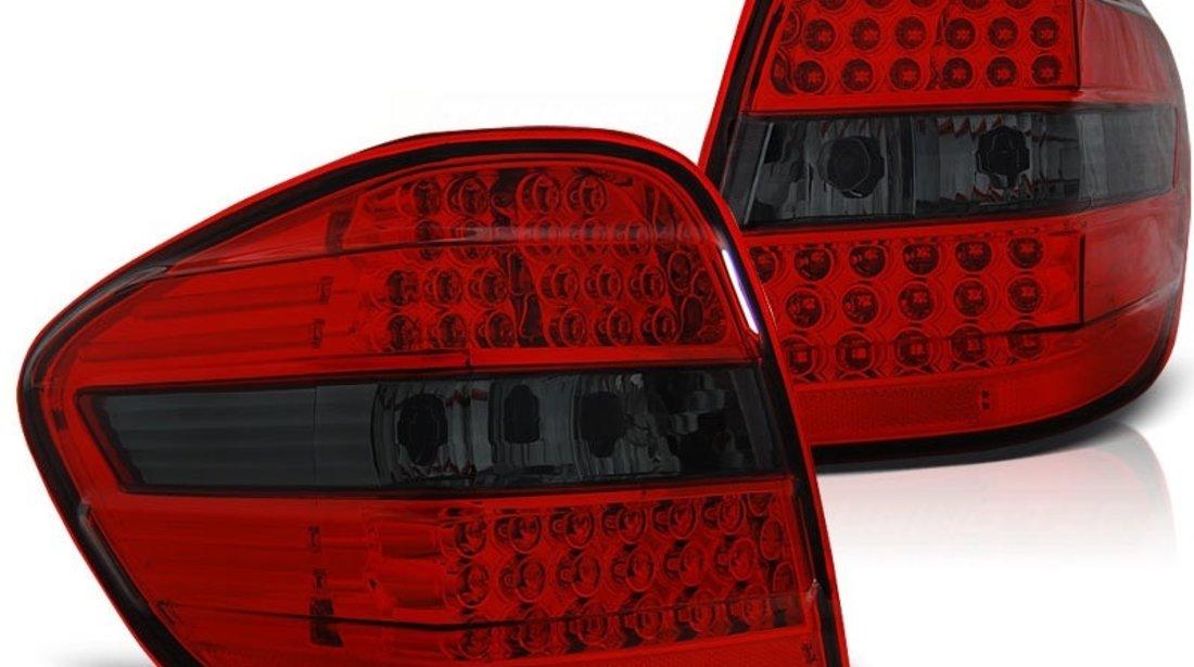 Stopuri cu led Mercedes W164 rosu/fumuriu