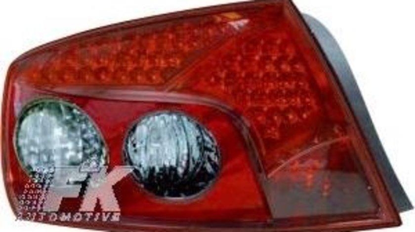 STOPURI CU LED PEUGEOT 407 FUNDAL RED -COD FKRLXLPG301