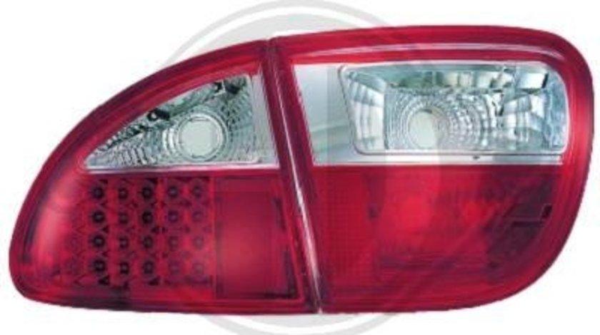 STOPURI CU LED SEAT LEON/TOLEDO FUNDAL RED/CRISTAL -COD 7431995