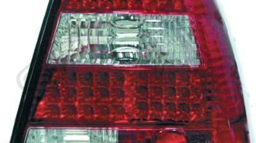 STOPURI CU LED VW BORA FUNDAL RED/CRISTAL -COD 2231995