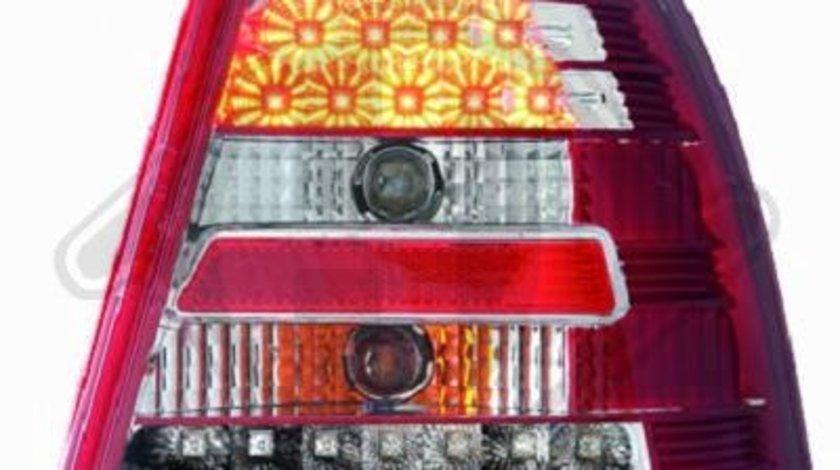 STOPURI CU LED VW BORA FUNDAL RED/CRISTAL -COD 2231997