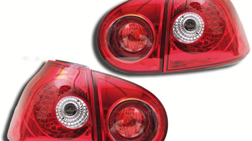 STOPURI CU LED VW GOLF 5 FUNDAL RED -COD FKRLXLVW211