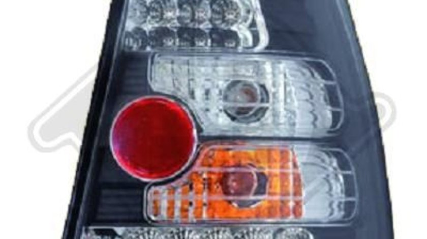 STOPURI CU LED VW GOLF IV/BORA FUNDAL BLACK -COD 2213696