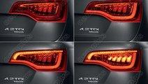 Stopuri cu leduri Audi Q7 2009