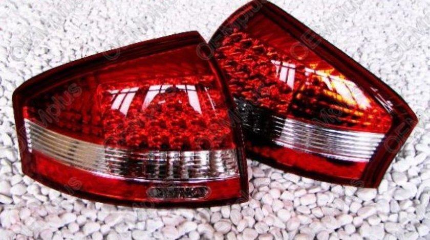 Stopuri Cu Leduri Oem Look Audi A6 1998-2005